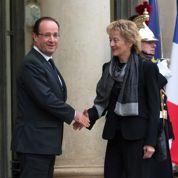 Tête-à-tête fiscal avec la présidente suisse