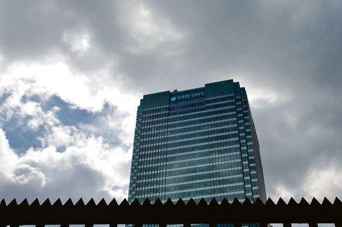 Siège social de Barclays, à Londres. En juin dernier, la banque avait acquitté une amende de 450 millions de dollars en échange de l'abandon des poursuites et de sa pleine collaboration.