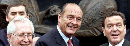 2003 : Chirac-Schröder, un couple au service de l'Europe