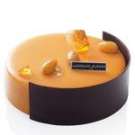 Gâteau rhum brun/raisins blonds de Claire Damon.