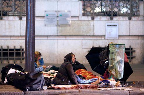 Photo prise le 24 octobre 2012, dans une rue de Paris.