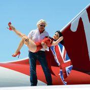 Delta monte à bord de Virgin