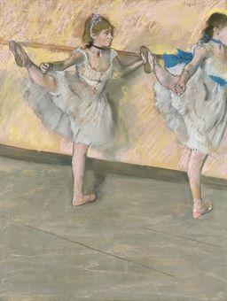 Danseuses à la barre , par Edgar Degas.