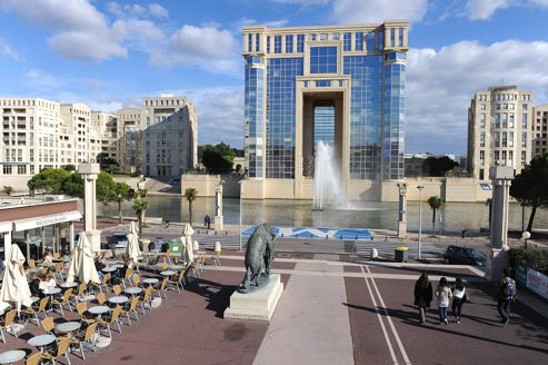 L'Hôtel de la Région Languedoc-Roussillon, à Montpellier.