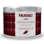 Les cristaux de sel Falksalt au Chipotle.