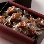 Coffret de caramels Henri Le Roux.