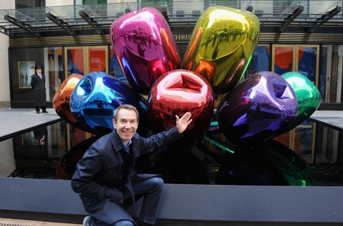Jeff Koons (c) Jamie McCarthy / GETTY IMAGES NORTH AMERICA / AFP