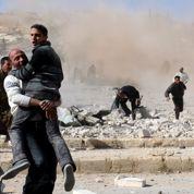 Syrie: l'aviation vise un camp palestinien
