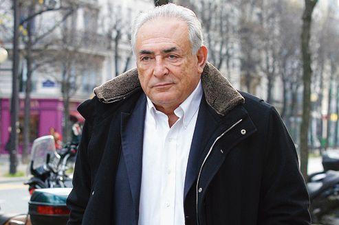 Dominique Strauss-Kahn, le 11 décembre à Paris, le lendemain de l'accord conclu à New York avec Nafissatou Diallo.