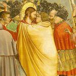 « Le baiser de Judas », par Giotto. En désignant Jésus aux gardes venus le chercher au jardin de Gethsémani, ce disciple a vendu son maître.
