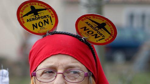 Même les opposants à la construction de l'aéroport Notre-Dame-des-Landes étaient là.