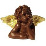L'ange en chocolat au lait de Jean-Charles Rochoux.