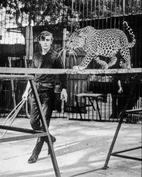 Thierry (16 ans) à ses débuts au zoo de Marseille.