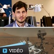 Figaro rembobine 2012 : Curiosity arrive sur Mars