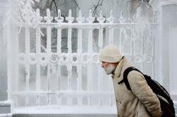 Moscou a enregistré lundi soir une température de -20°C, soit 12°C de moins que la moyenne pour cette période.