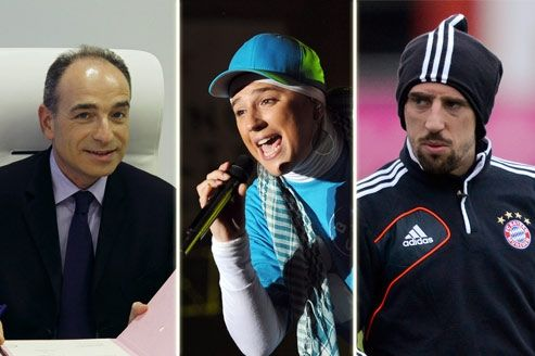 Jean-François Copé, Diam's et Franck Ribéry font partie des personnalités les plus agaçantes selon les Français.