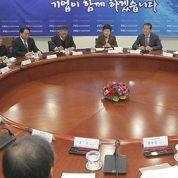 La Corées'attaque aux conglomérats