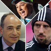 Copé, Diam's et Ribery élus têtes à claques