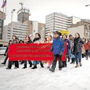 Les Indiens du Canada partent en guerre