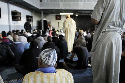 La mosquée d'Épinay-sur-Seine en octobre dernier.