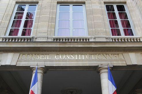 Le Conseil constitutionnel, rue Cambon à Paris.