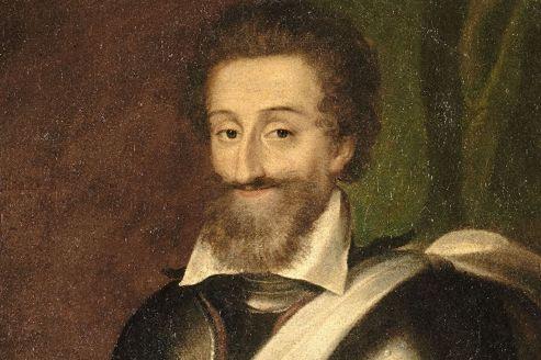 Portrait d'Henri IV, roi de France et de Navarre.