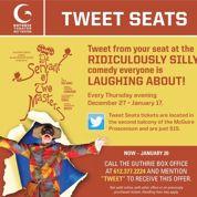 Un théâtre réserve des places aux Twittos