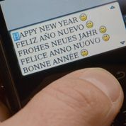 Nouveau record de SMS pour les vœux 2013