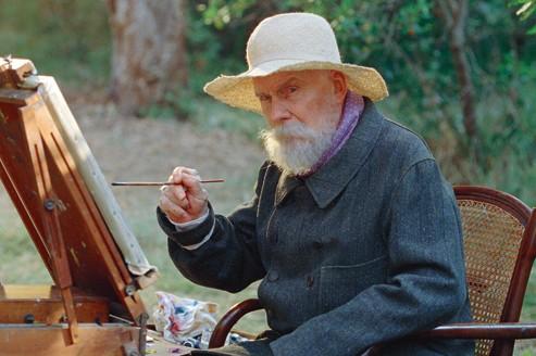 Michel Bouquet, en paterfamilias de la peinture française.