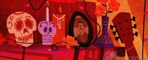 Lee Unkrich dépeint  E  l Dia de los Muertos  sous forme de cartoon à l'allure kistch.