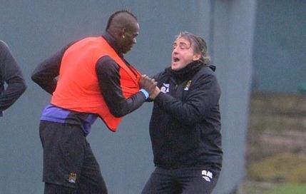 Violente altercation Balotelli-Mancini