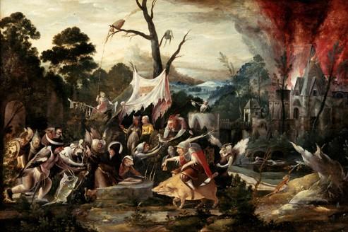 <i>La Tentation de Saint Antoine</i>, par Jan Mandjin.