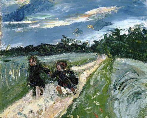 <i>Retour de l'école après l'orage </i>, 1939, par Chaïm Soutine (The Phillips Collection, Washington).