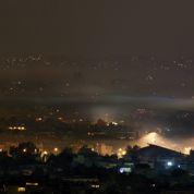 Le ciel d'Athènes sous les fumées de la crise