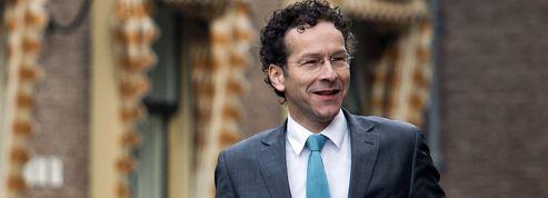 Eurogroupe: le candidat néerlandais en campagne à Paris