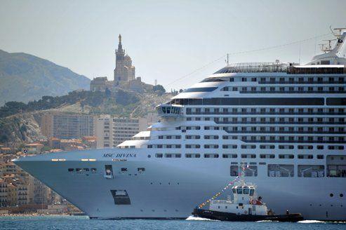 Le port de marseille parie sur les croisi res - Port de marseille pour aller en algerie ...