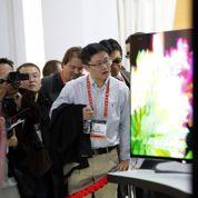 Une télé à écran courbe chez Samsung et LG