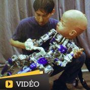 Diego, le bébé robot plus vrai que nature