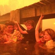 Il sauve sa famille des «tornades de feu»