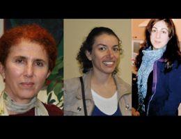 Sakine Cansiz, Fidan Dogan et Leyla Soylemez. Capture d'écran Firatnews.