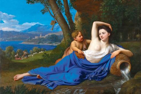 <i>Portrait d'une femme sous les traits d'une source</i>, Nicolas Colombel.