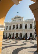La Santa Casa de Misericordia, fondée en 1569, fut le premier hôpital occidental d'Asie.