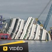 Costa Concordia : le spectaculaire naufrage