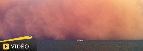 Tempête de sable gigantesque en Australie