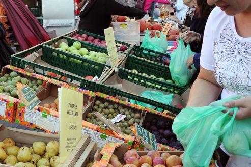 De 30 à 50% de ce qui est acheté dans le commerce n'est jamais mangé.