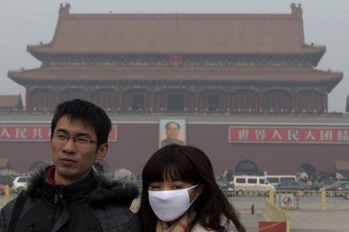 La pollution atmosphérique a atteint un niveau record à Pékin ce week-end.