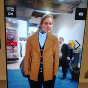 Une cabine d'essayage virtuelle chez LG