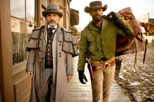 Le maître (Christopher Waltz) et l'esclave (Jamie Foxx), unis pour se venger.