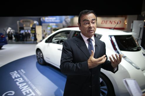 Carlos Ghosn croit à la voiture sans pilote