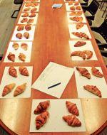 Les trente-et-un croissants testés par la rédaction du  Figaroscope.